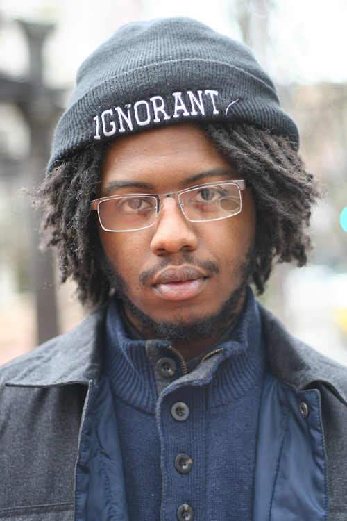 Donovan Smith, photographed 2014, Pioneer Square