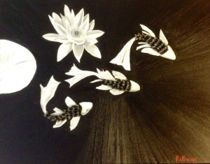 Koi and Lilly by Sharden Killmore